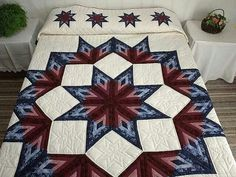 Amish Quilt Patterns On Barn Amish Quilting Patterns Gwen Marston Broken Star Log Cabin Quilt Marvelous Specially Made Amish Quilts From Lancaster Amish Quilt Patterns History Lone Star Quilt Pattern, Amish Quilt Patterns, Log Cabin Quilt Pattern, Star Quilt Blocks, Log Cabin Quilts, Star Quilts, Log Cabins, Amische Quilts, Bargello Quilts