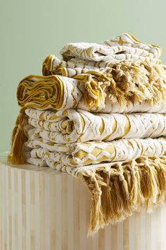 Marcela Towel Collection -   Anthropologie