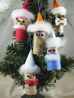 クリスマスツリーに付ける手作りのオーナメントです