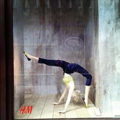 you are so flexible, Petra, pinned by Ton van der Veer