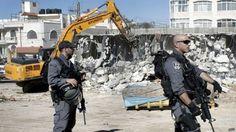 اسرائيل تهدم 77 منزلاً فلسطينياً خلال 3 أيام و الأمم المتحدة تدين الهدم