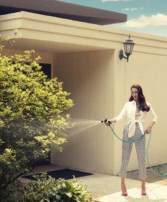 Song Joo by Tae Woo for Singles Korea June 2012