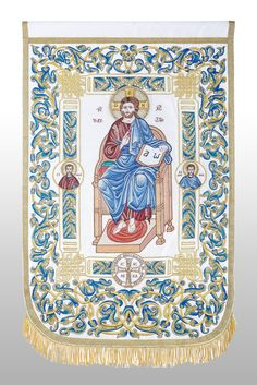 Christ in Majesty   Riza Orthodox Vestments