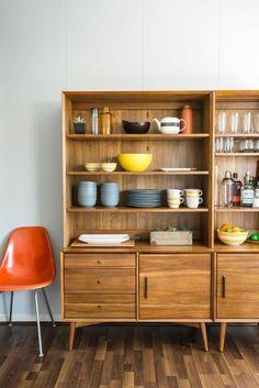 Modern Kitchen Hutch