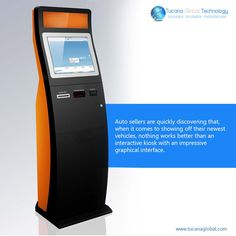 #Auto sellers are quickly #discovering that, when it comes to showing off their newest #vehicles, nothing works better than an #interactive #kiosk with an #impressive #graphical #interface. #TucanaGlobalTechnology #Manufacturer #HongKong