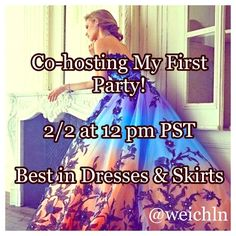 Hosting my 1st Posh Party  2/2 at 12 pm PST  I'm co-hosting my first posh party  I'm so excited! Let's party ladies! I will be checking out closets for host picksThe theme is Best in Dresses & Skirts I am co-hosting with the lovely @revivemethredz You must be posh compliant if you wish to be considered for a host pick. I'm also interested in finding some new closets. You can tag me in 2-3 listings that you would like to be considered for host picks  You can also find me on   Instagram…