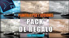 PSD editable y acción para crear virados clásicos en Photoshop by @Tripiyon