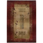 $599 for 8' x 8' or 6'7 x 9'1, -10% Found it at Wayfair - Generations Dark Red Rug