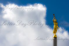 Angel Moroni Denver Colorado Temple  FIne by LatterDayPhotography on Etsy, $29.99 Niel Hayes