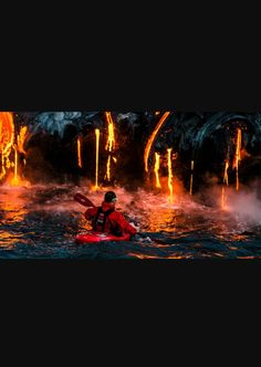 You never know what you will find. Even if it's not a lava waterfall