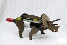 Dino-wine holder.