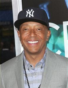 Russell Simmons Russell is a vegan and devoted to the practice of yoga. Becoming passionate about the both made him more self-aware of his karma and the world at large.