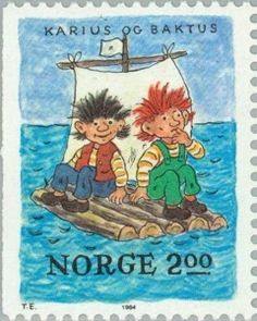 Der Vater von Karius und Baktus First Day Covers, Scandinavian Art, Cartoon Tv, Fauna, Mail Art, Stamp Collecting, Postage Stamps, Childrens Books, Norway