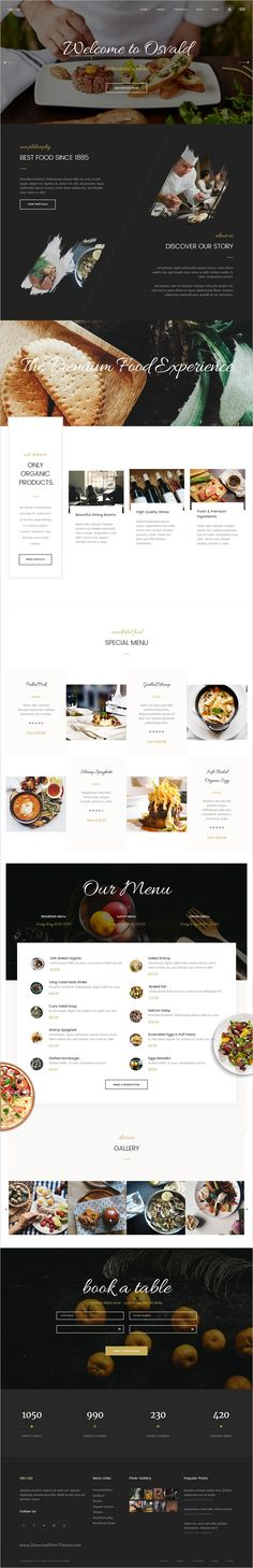 Osvald is a beautifully design bootstrap #HTML #template for multipurpose #restaurant #websites with 12 unique homepage layouts download now➩ https://themeforest.net/item/osvald-html-responsive-multipurpose-template/18533327?ref=Datasata