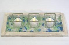 Sea Glass Love - Decorating + Craft Ideas