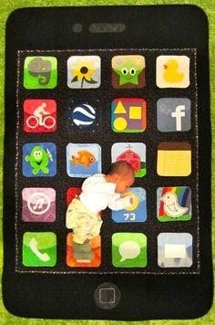 an iPhone quilt!!