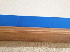 how to paint baseboards without getting paint on your carpet, how to, painting, wall decor, woodworking projects