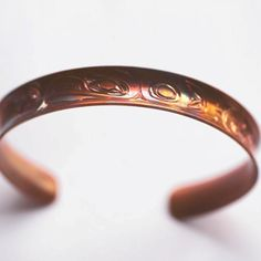 Eagle and Whales Tail Bracelet by  Nicholas Galanin (Tlingit/Aleut). Native American artist. #nativeamerican