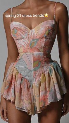 Pretty Dresses, Beautiful Dresses, Runway Fashion, Fashion Outfits, Couture Fashion, 21st Dresses, Oui Oui, Cute Casual Outfits, Dream Dress