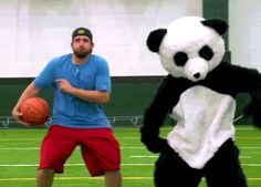 dance dancing panda cmt white people costume the dude perfect show dude perfect