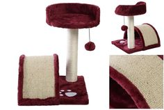Bang-up Popular 18' Cat Tree High Stability Level Condo Fun Activities Color Wine *** You can find more details by visiting the image link. (This is an affiliate link and I receive a commission for the sales)