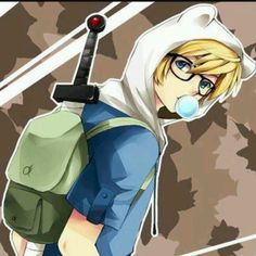 anime adventure time finn - Google Search