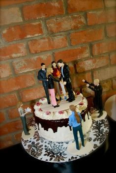 Tvd Wedding Cake Toppers