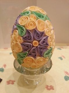 Easter egg (Quilling)