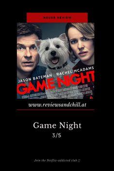 Plot Twist, Rachel Mcadams, Thriller, Mystery, Comedy, Jason Bateman, Game Night, Games