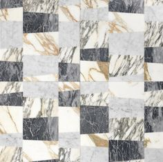 Opus | Piano patchwork r by Lithos Design | Natural stone slabs