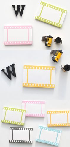 The Film Memo Pad is a memo pad with a look of a film strip! They're great for carrying and are great for writing memos, messages, or drawing! School Suplies, Note Memo, Film Strip, House Accessories, Studyblr, Fun Stuff, Stuff To Buy, Classroom Themes, Sticky Notes