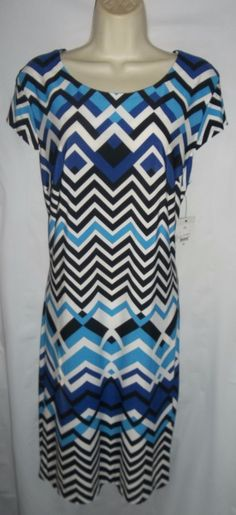 Item specifics    									 			Condition:  												 																	 															  															 															 																New with tags: A brand-new, unused, and unworn item (including handmade items) in the original packaging (such as  																  																		... - #Women'sDresses https://lastreviews.net/fashion/womens/womens-dresses/liz-claiborne-blue-black-white-geo-print-pullover-stretch-dress-xlarge-nwt/