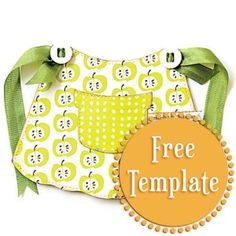 Free PDF Apron Template from Stampington.com