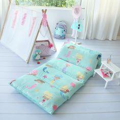 Mermaid Floor Pillow Bed Cover - butterflycraze.com – Butterflycraze
