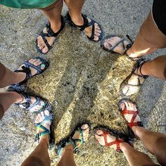 chacos and nature
