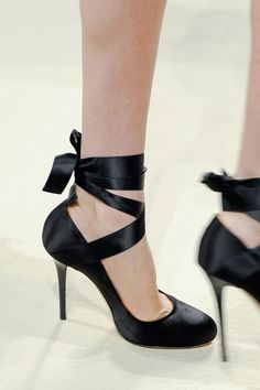 Get Familiar With All the Gorgeous Runway Shoes at Milan Fashion Week: Alberta Ferretti Spring 2014
