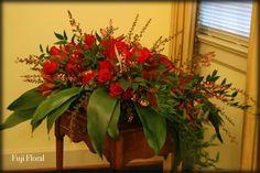 Funeral Flower Arrangements, Memorial Flowers, Sympathy Gifts, Floral Design, Fuji, Plants, Floral Patterns, Plant, Planets