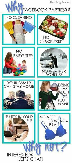 Online parties and Catalog parties earn the same rewards as an in home party! Contact me for details Lauragislason@yahoo.com