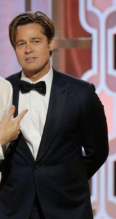 NEWS&TRENDS 11.1.2016 MEN of GOLDEN GLOBE....Brad Pitt