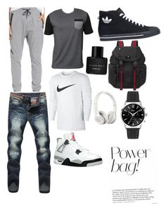 """""""the guy"""" by woahnyah ❤ liked on Polyvore featuring Zanerobe, Billabong, NIKE, adidas, Kenneth Cole, Gucci, Beats by Dr. Dre, men's fashion and menswear"""