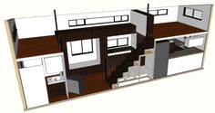 Tiny House Plans - hOMe Architectural Plans