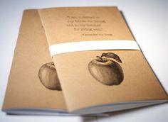 Teacher Gift Handmade Letterpress Printed by FossilLetterpress