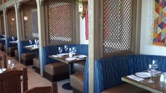 Some of the favorite tables at Spice Road Table are the cozy, cushioned booths, complete with beautiful Moroccan lanterns. Epcot Restaurants, Moroccan Lanterns, Disney Dining, Small Plates, Places To Eat, Spices, Tables, Cozy, Furniture
