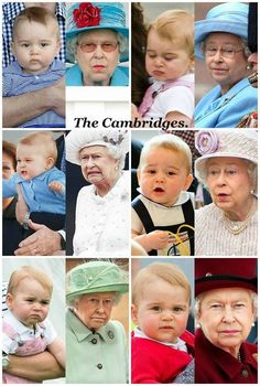 Prince George & The Queen