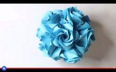 Se i fiori sono fuori, eccoti una palla di origami #origami #giappone #artigianato #miti