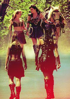 Fan Art of Xena♥Gabrielle for fans of Xena & Gabrielle.
