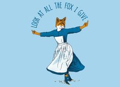 Look At All The Fox I Give by Nicholas Ginty | Threadless