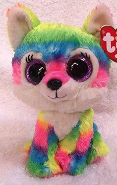 9461ea01ea3 Ty Beanie Boo Large Isla the Rainbow Bulldog Plush Toy