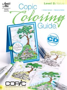 Cover of our second book in the Copic Coloring Guide Series.