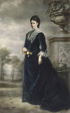 Imperatriz Viúva Marie Feodorovna, mãe do Imperador Nicolau II.